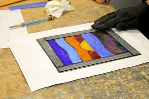 Designing to a template - Cariad Glass