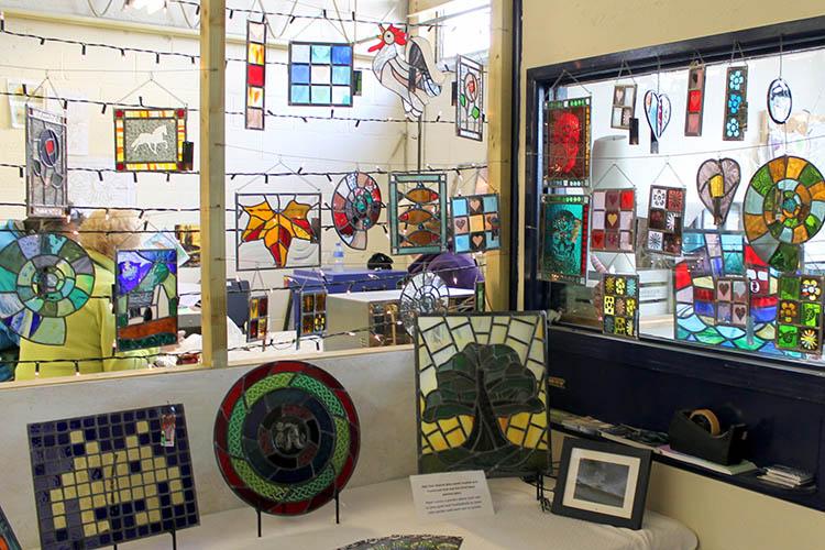 Stained glass art - Cariad Glass - Llandysul