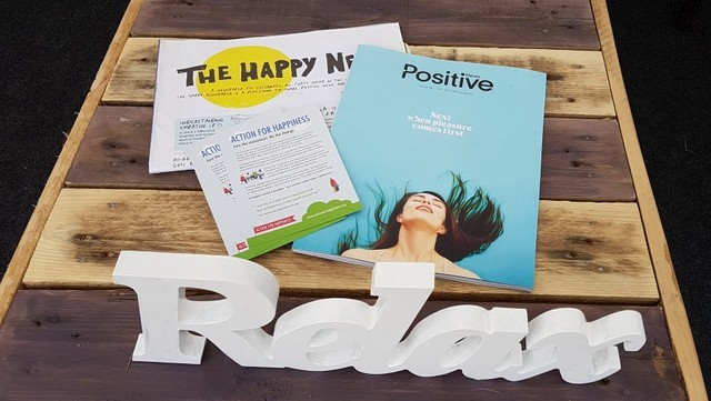 Positive News - The Happy Newspaper - Action for Happiness - The Big Retreat Wales